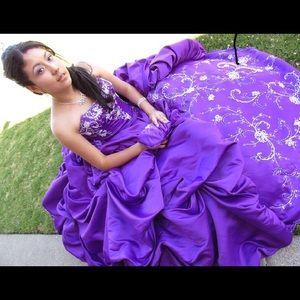 Purple Quinceañera Dress